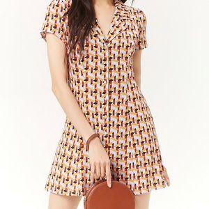 Forever 21 geometric dress